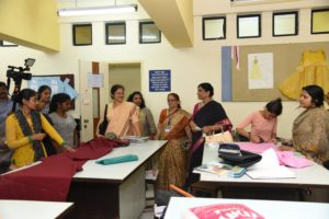 NAAC peer team visits Dr.B.M.N college of Home Science for 3rd cycle Re-Accreditation Process