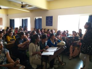 """An Interactive session on Career Counselling and Motivation""""for TYBCA students by Mitali Telang"""