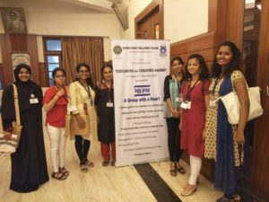 Prof. Mala Pandurang along with 6 students attended a two day National Conference on