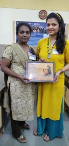 Ms. Neetu Singhi and Ms. Sudha Lawrence attended TPO Meet organized by NIIT on 12th July, 2018.