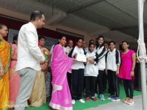 Essay Competition was organized at Women's College of Arts, Comm. & Home Science, Jalgaon