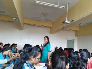 Guest Lecture by Ms.Preeti Yadav for SYBCA students -11th September, 2018