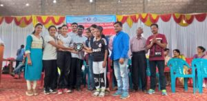 Sr. Intercollegiate competition held at Kolhapur from 25th to 27th Sept. 2018. Ms. Shweta Hakke (PG SSFN) won Athletics 100 m run 1st place, 200 m run 1st place, 400 m run 1st place, long jump 1st place, Athletics individual championship 1st place. Sejal bhanushali (FYBSc)won fencing epee event 3rd place. College got All round championship in athletics 3rd place.