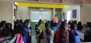 An awareness session on sexual harassment was organised by Mrs.Harshada Patil,MSW on 10 th October 2018.