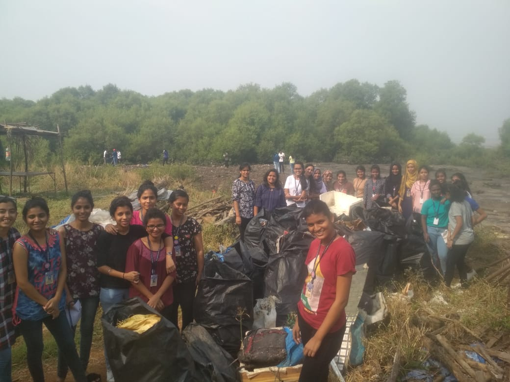 Mangroves cleanliness drive