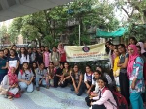 Student visited Nanalal D Mehta Garden under King's Circle Flyover
