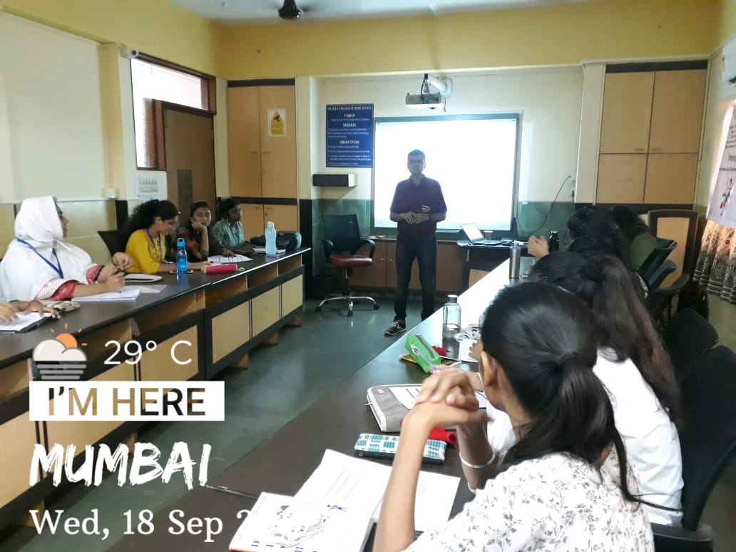 22 TYBCA students attended a 2 day workshop on