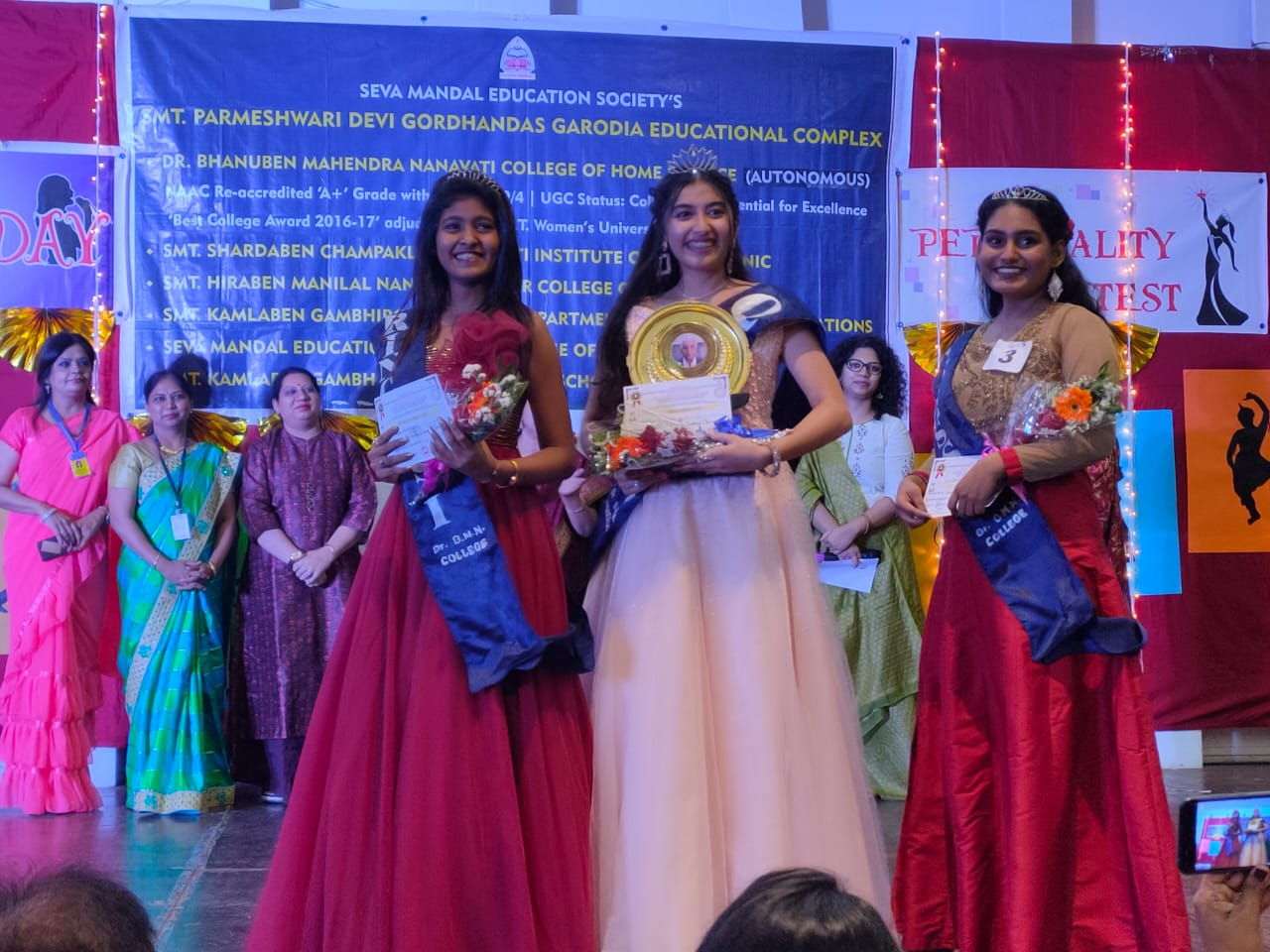 Winners of the Annual Day- Personality Contest held on 31st January 2020
